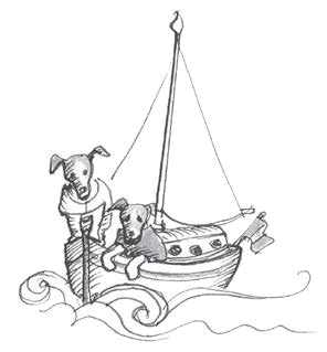 illustration-dogs-sailboat