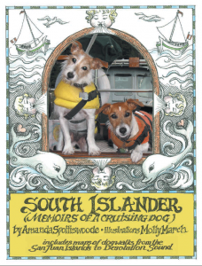 South Islander - Memoirs of a Cruising Dog - Book Cover